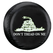 Don't Tread On Me Spare Tire Cover