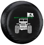 Don't Tread On Me Jeep Spare Tire Cover