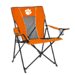 Clemson Game Time Chair w/ Tigers Logo