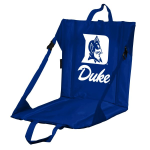 Duke Stadium Seat w/ Blue Devils Logo - Cushioned Back