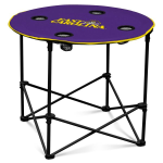 East Carolina Pirates Round Tailgating Table