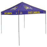 East Carolina Tent w/ Pirates Logo - 9 x 9 Solid Color Canopy