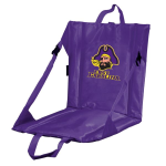 East Carolina Stadium Seat w/ Pirates Logo - Cushioned Back