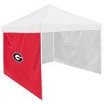 Georgia Tent Side Panel w/ Bulldogs Logo - Logo Brand