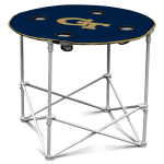 Georgia Tech Yellow Jackets Round Tailgating Table