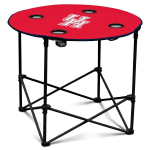 Houston Cougars Round Tailgating Table