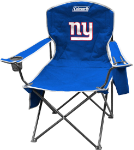 New York Giants Coleman XL Quad Canvas Chair