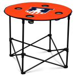 Illinois Fighting Illini Round Tailgating Table