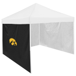 Iowa Tent Side Panel w/ Hawkeyes Logo - Logo Brand