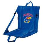 Kansas Stadium Seat w/ Jayhawks Logo - Cushioned Back