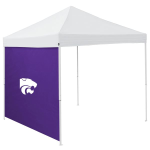 Kansas State Tent Side Panel w/ Wildcats Logo - Logo Brand