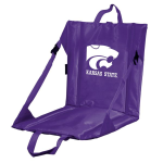 Kansas State Stadium Seat w/ Wildcats Logo - Cushioned Back
