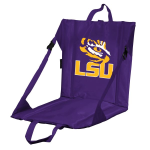 LSU Stadium Seat w/ Tigers Logo - Cushioned Back