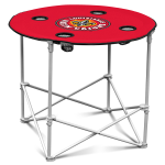 Louisiana Lafayette Ragin Cajuns Round Tailgating Table