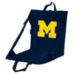 Michigan Stadium Seat w/ Wolverines Logo - Cushioned Back