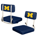 Michigan Stadium Seat w/ Wolverines Logo - Hardback