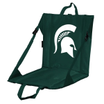 Michigan State Stadium Seat w/ Spartans Logo - Cushioned Back