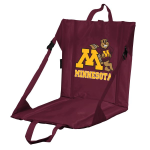 Minnesota Stadium Seat w/ Golden Gophers Logo - Cushioned Back