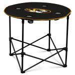 Missouri Tigers Round Tailgating Table