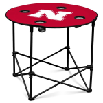 Nebraska Cornhuskers Round Tailgating Table