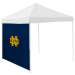 Notre Dame Tent Side Panel w/ Fighting Irish Logo - Logo Brand