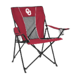 Oklahoma Game Time Chair w/ Sooners Logo
