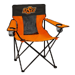 Oklahoma State Elite Chair w/ Cowboys Logo