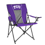 Texas Christian Game Time Chair w/ Horned Frogs Logo