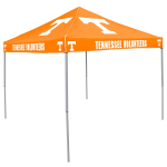Tennessee Tent w/ Volunteers Logo - 9 x 9 Solid Color Canopy