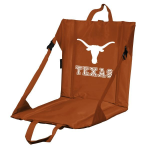 Texas Stadium Seat w/ Longhorns Logo - Cushioned Back