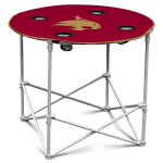 Texas State Bobcats Round Tailgating Table