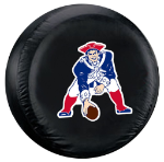 New England Tire Cover with Patriots Throwback Logo - Standard