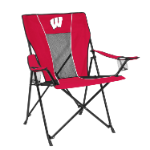 Wisconsin Game Time Chair w/ Badgers Logo