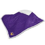 Northern Iowa Blanket w/ Panthers Logo - Sherpa Throw