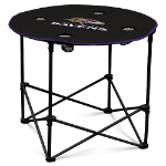 Baltimore Ravens Round Tailgating Table