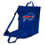Buffalo Stadium Seat w/ Bills Logo - Cushioned Back