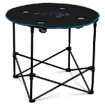 Carolina Panthers Round Tailgating Table