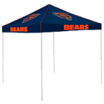 Chicago Tent w/ Bears Logo - 9 x 9 Solid Color Canopy
