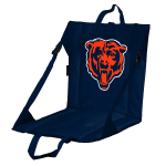 Chicago Stadium Seat w/ Bears Logo - Cushioned Back