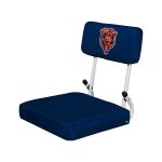 Chicago Stadium Seat w/ Bears Logo - Hardback