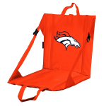 Denver Stadium Seat w/ Broncos Logo - Cushioned Back