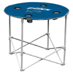 Detroit Lions Round Tailgating Table