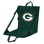Green Bay Stadium Seat w/ Packers Logo - Cushioned Back