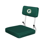 Green Bay Stadium Seat w/ Packers Logo - Hardback