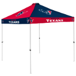 Houston Tent w/ Texans Logo - 9 x 9 Checkerboard Canopy