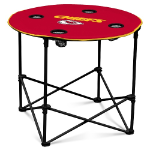 Kansas City Chiefs Round Tailgating Table
