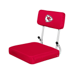 Kansas City Stadium Seat w/ Chiefs Logo - Hardback