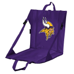 Minnesota Stadium Seat w/ Vikings Logo - Cushioned Back