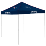 New England Tent w/ Patriots Logo - 9 x 9 Solid Color Canopy