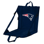 New England Stadium Seat w/ Patriots Logo - Cushioned Back
